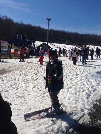 2016 Ski trip to Poconos - Staying at Boy Scout Camp
