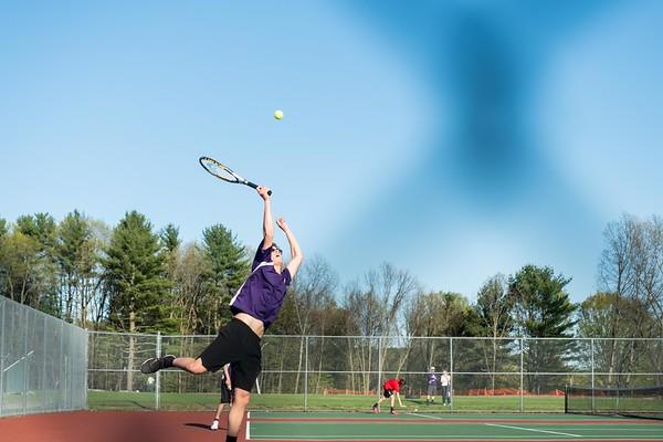 BUHS boys' tennis vs. Rutland 050619