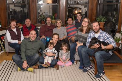 171126 Schiller Family Thanksgiving at Jessie's