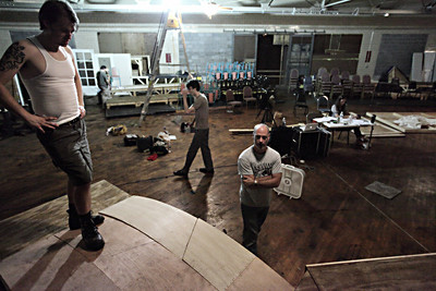 Evil Dead The Musical Rehearsals 9/14-15/09