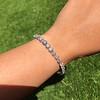 9.50ctw Round Brilliant Diamond Tennis Bracelet 41