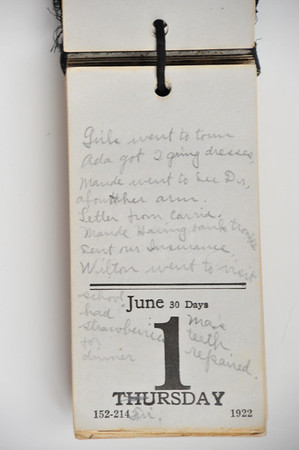 Day Book 1923 - June