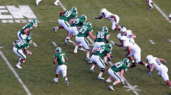 Football: PSU at MSU 2009