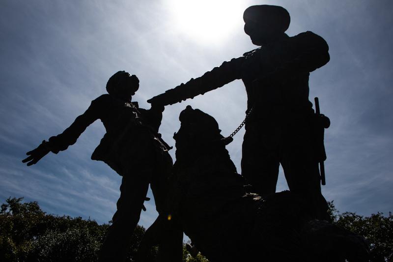 "October 17 - ""Foot Soldiers"" Monument.Birmingham, Alabama.jpg"