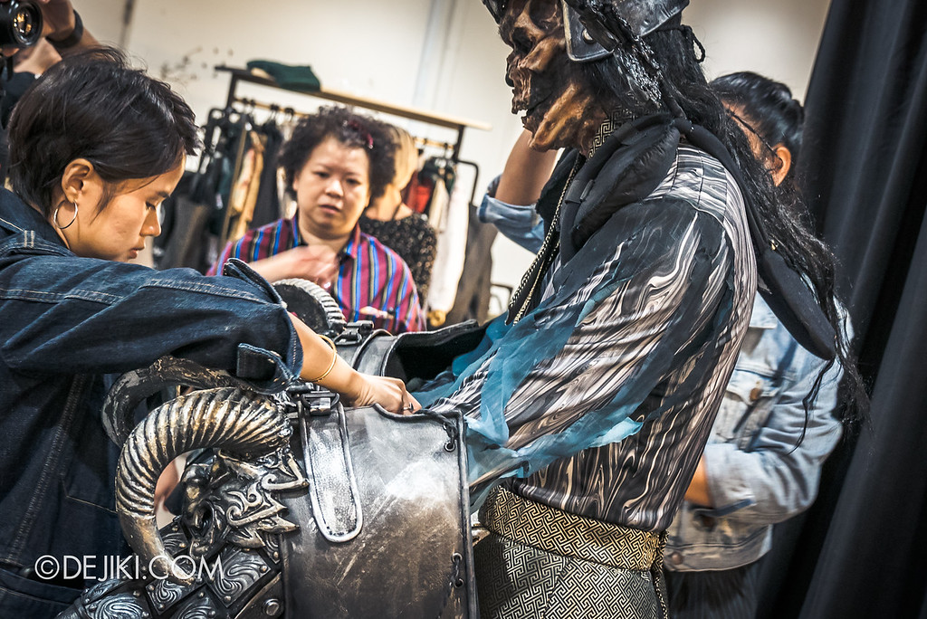 Universal Studios Singapore Halloween Horror Nights 8 Behind The Scenes / Yin Demon inner layer