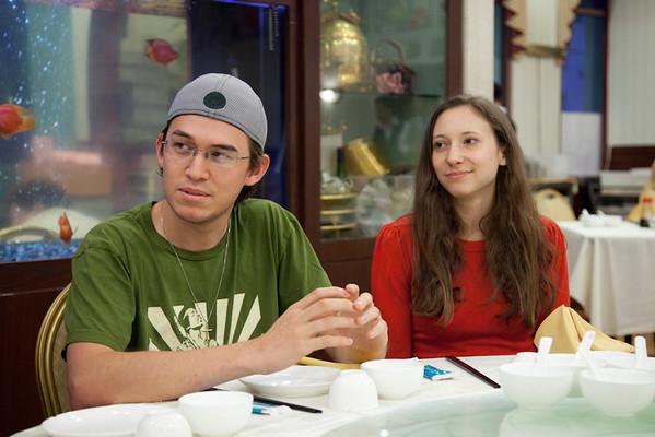 Newlyweds Mark & Rachel