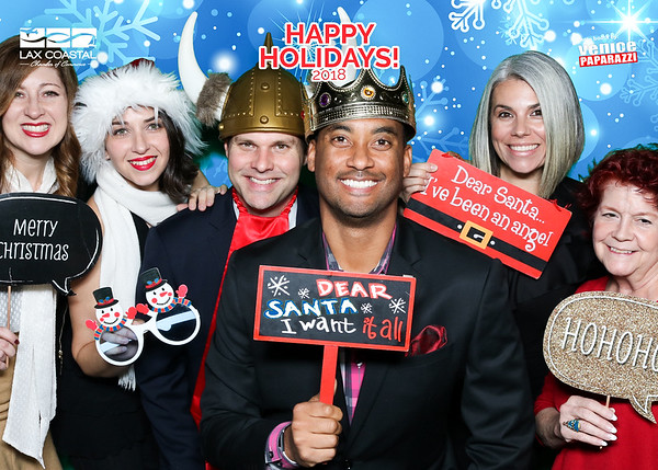 Holiday photo booth with Venice Paparazzi