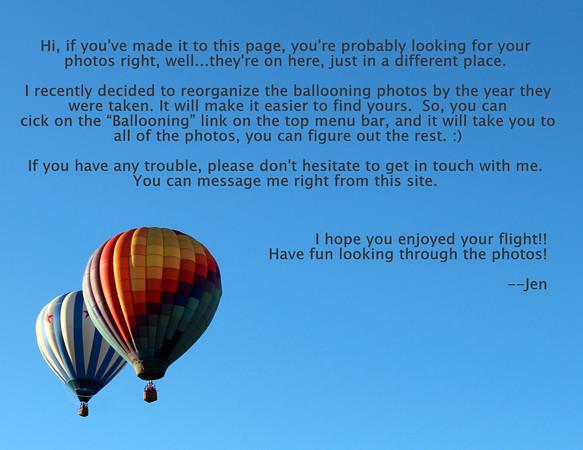 Droppin-In Hot Air Balloon Team