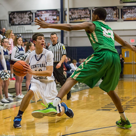 CC Varsity Boys BB vs Cathedral 2015-2-26