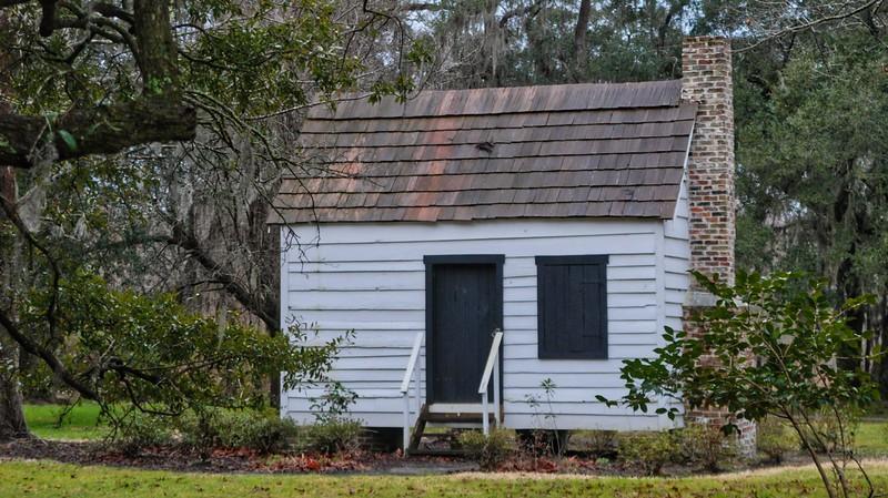 Slave cabin at Magnolia Gardens