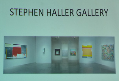 Feb 18 Fri Gallerymeister Stephen Haller at Molly Barnes S Brown Bag Salon Lunch at Roger Smith