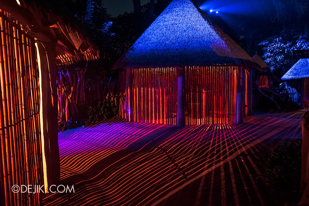 Singapore Zoo Rainforest Lumina - Light Huts 1