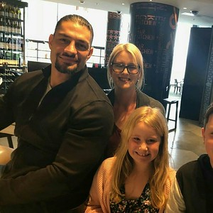 Roman Reigns - Candids from Australia for the Super Show Down
