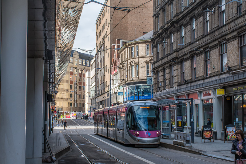 CAF Urbos 3 Tram, Grand Central tram stop