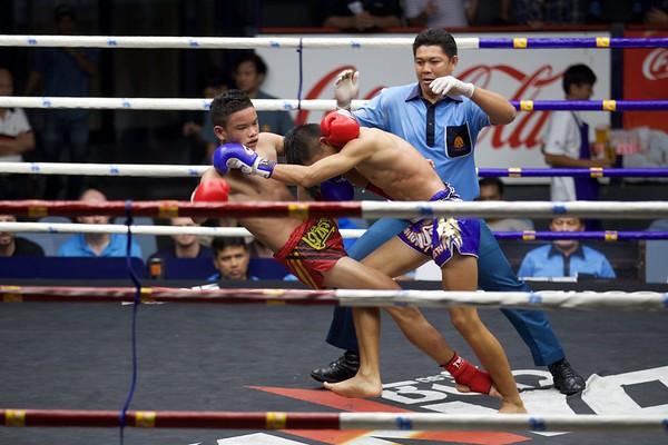 Fight Night at Rajdamnern Boxing Stadium