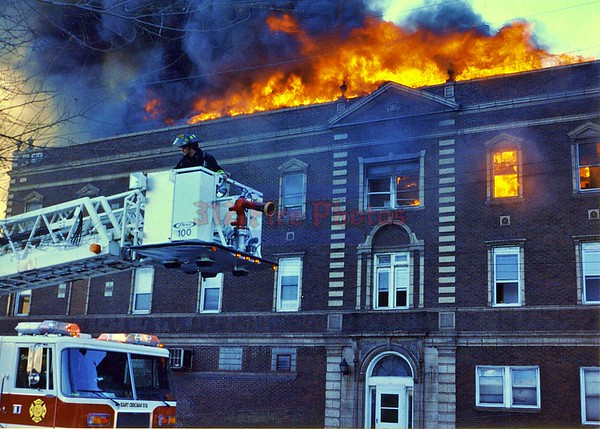 East Chicago, Ind. 1120 E. Chicago Ave. Working Fire 1-14-1996