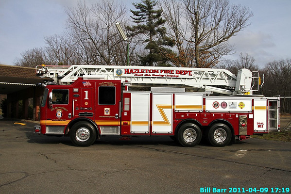 Ladder 1 Hazleton Dedication 4/9/11