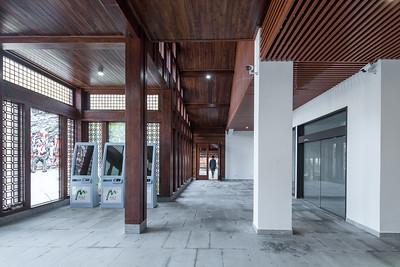 Tourist Service Center of JiuYi Mountain Scenic Area, Yongzhou, Hu'nan, China