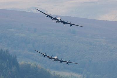 Dambusters Lancaster Pair 2014