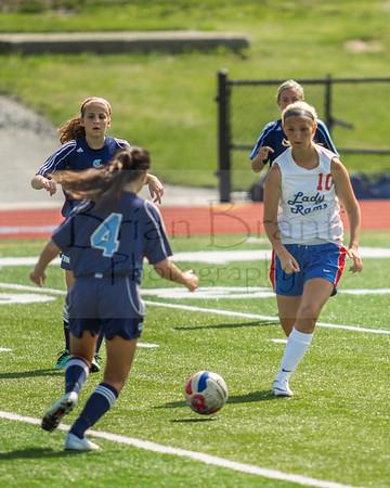 Girls Soccer Scrimmage 8-20-2016