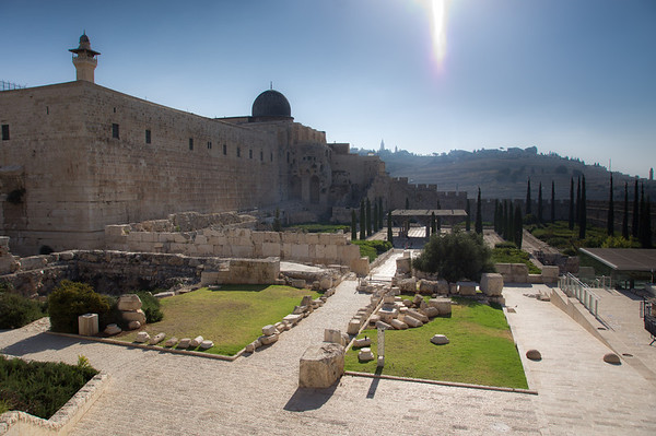 The Temple, The Dome, and The City of David