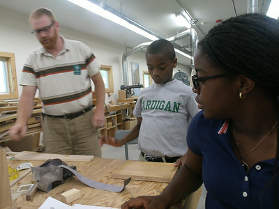 Woodshop with Mr. Shinnlinger (Take 2!)