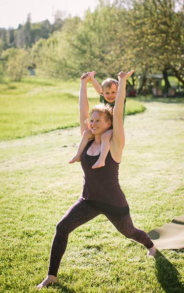 Jasmine Yoga portraits
