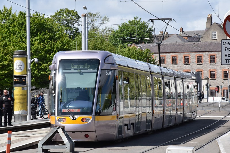 3017 Heuston 16 May 2021 Operating a Heuston to Connolly shuttle.