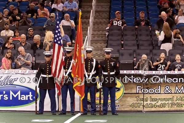 Cleveland @ Orlando AFL - USMC - 2011