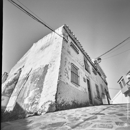 Roll 140 - My first pinhole photos