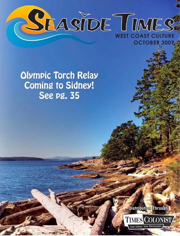 """Seaside Times"" magazine cover shot, October 2009"