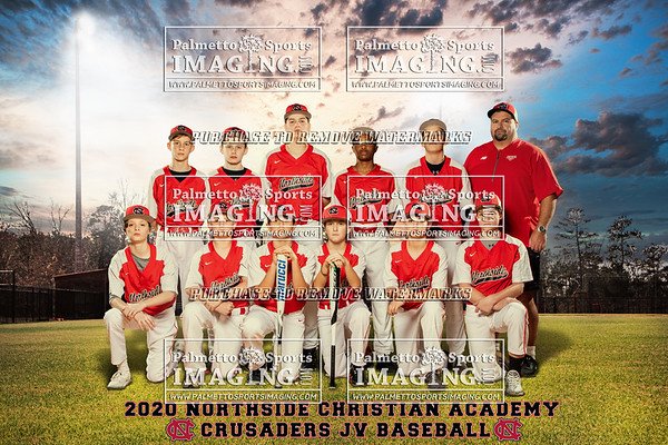 2020 Northside Christian Academy JV Team and Individuals