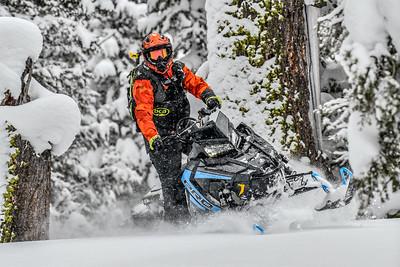 2019 Polaris 850 Mountain sleds:Crossovers