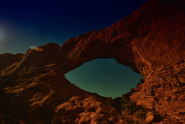 Arches and drive through Capital Reef