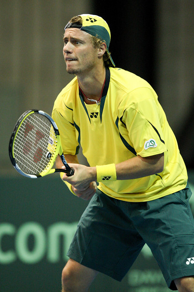 11 April 2008 Townsville, Qld, Australia - Australia's Lleyton Hewitt met Thailand's Kirati Siributwong in the second rubber of their Davis Cup tie in Townsville - Photo: Cameron Laird (Ph: 0418 238811)