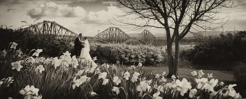 Forth Rail Bridge Wedding