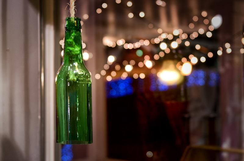 Bottle On A Roap