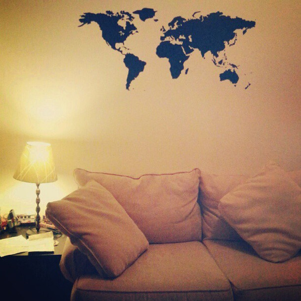 Apartment_starting_to_come_together._Map_of_the_world_decal_finally_up_and_bed_on_legs__time_to_put_up_pictures. (1).jpg