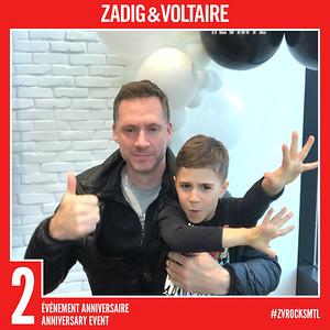 14 décembre 2019 - Zadig et Voltaire