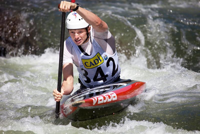 Mark PROCTOR (Great Britain), C1 - ICF Canoe Slalom World Championships 2009, La Seu d'Urgell (Spain)