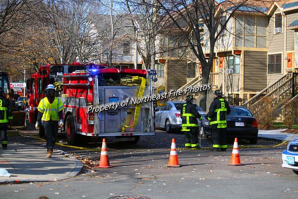 Boston- Gas Leak- Kerr Place- 11/20/14