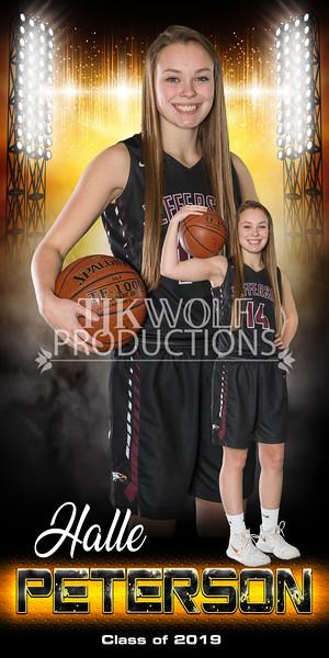 Girls Basketball Banner
