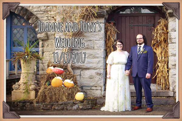 Joanne & Tony's Wedding
