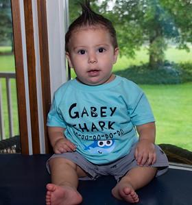 Gabby turns 1 Sept 2018
