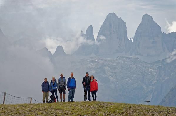 Toblacher Pfannhorn (2663m) - Marchginggele (2545m)