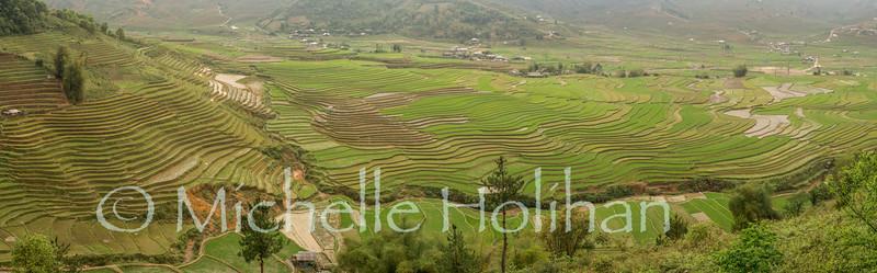 Cao Pha Village Viewpoint, Mu Cang Chai, Vietnam