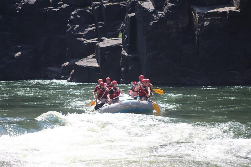 White Water Rafting (Zambezi River)