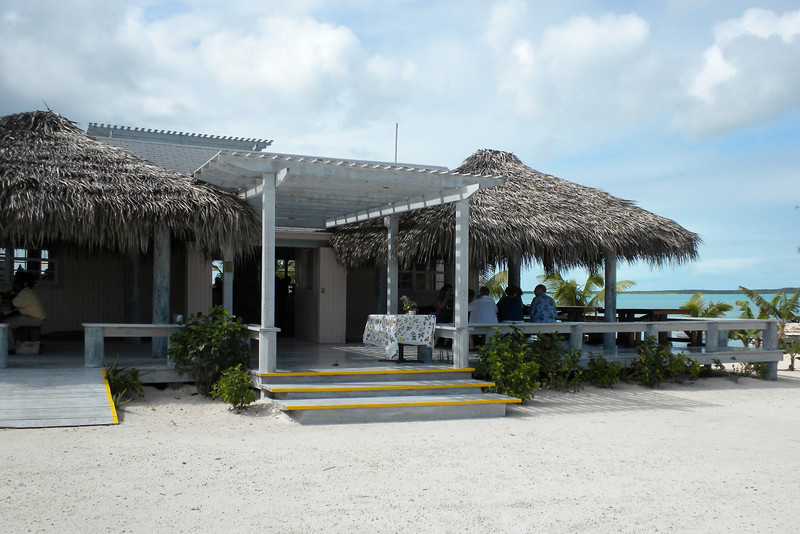 Four Points Restaurant, Eleuthera Island - Sampled Bahamian & Eleuthera food, including spicy pineapple salad, coconut chicken and conch fritters