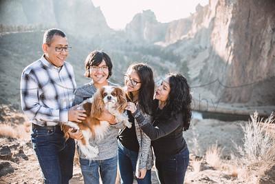 Chavez Family at Smith Rock