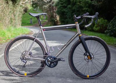 Burls Titanium Bike